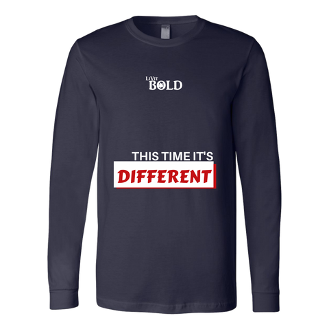 LiVit BOLD Canvas Long Sleeve Shirt - This time it's different - LiVit BOLD