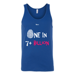 One In 7 Plus Billion - Women's Tank Top - 4 Colors - LiVit BOLD - LiVit BOLD