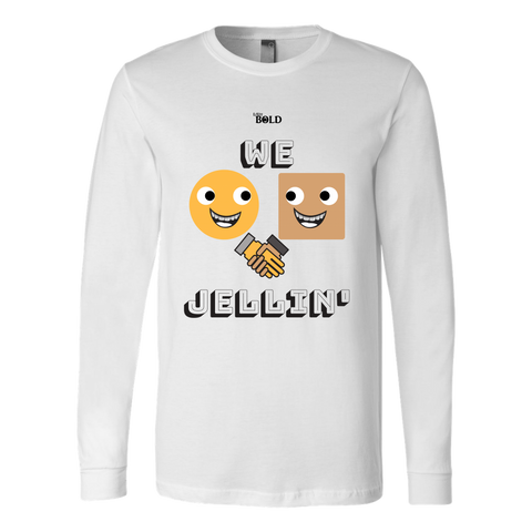 We Jellin' Long Sleeve T-Shirt - LiVit BOLD - 2 Colors - LiVit BOLD