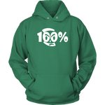 100% Apparel Collection Unisex Hoodie - LiVit BOLD - 12 Colors - LiVit BOLD