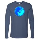 Pantherlete Athletics Men's Long Sleeve Top - Indigo - LiVit BOLD