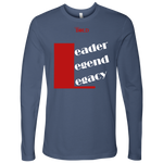 Leader.Legend.Legacy Men's Long Sleeve Top- 5 Colors - LiVit BOLD - LiVit BOLD