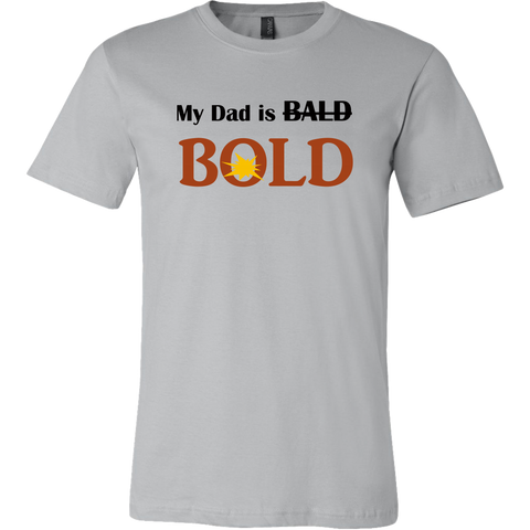 My dad is BOLD T Men's T-shirt - LiVit BOLD - LiVit BOLD