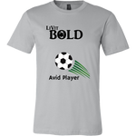 LiVit BOLD Canvas Men's Shirt - Soccer Collection - LiVit BOLD
