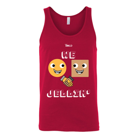 We Jellin' Unisex Tank - LiVit BOLD - 4 Colors