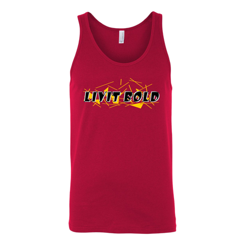 LiVit BOLD Unisex Tank Tops - 6 Colors