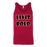 Color-Up Unisex Tank Tops -7  Colors - LiVit BOLD