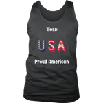 LiVit BOLD District Men's Tank - Proud American - LiVit BOLD