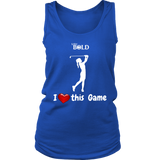 LiVit BOLD District Women's Tank - I Heart this Game - Golf - LiVit BOLD