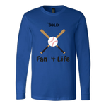LiVit BOLD Canvas Long Sleeve Shirt - Fan 4 Life - LiVit BOLD