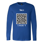 A-MAZE-'N Men's Long Sleeve Top - LIVit BOLD - 6 Colors - LiVit BOLD