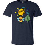 Sticking To My (Bee-Leaf) Belief - Men's T-Shirt - LiVit BOLD - 16 Colors - LiVit BOLD