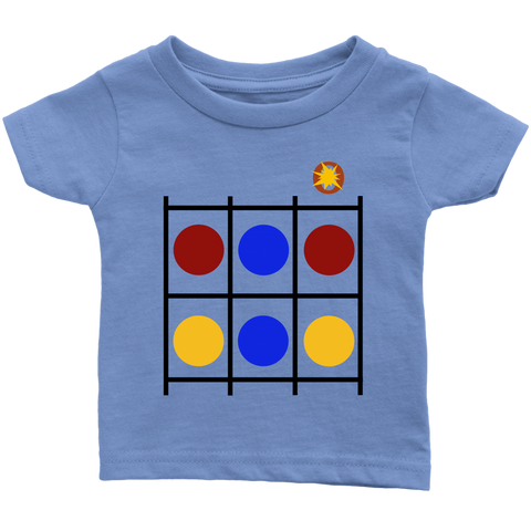 Color Dots LiVit BOLD Infant T-Shirt - LiVit BOLD