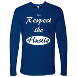Respect The Hustle - Men's Long Sleeve Top - LiVit BOLD - 6 Colors - LiVit BOLD