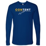Content Apparel Men's Long Sleeve Top - LiVit BOLD - LiVit BOLD