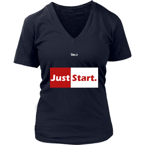 Just Start Women's T-Shirt - LiVit BOLD - 6 Colors - LiVit BOLD