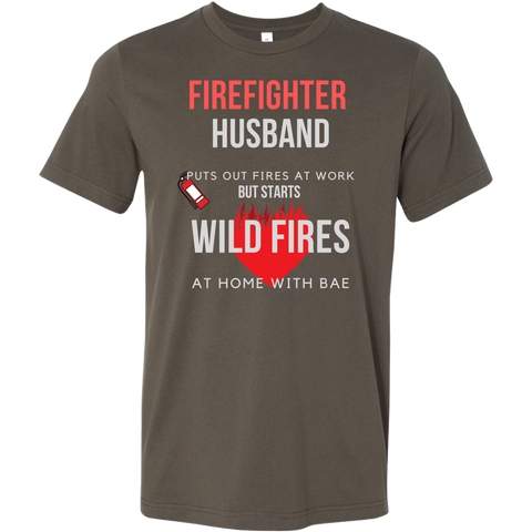 Firefighter Men's T-Shirt no.2 - LiVit BOLD - 9 Colors - LiVit BOLD
