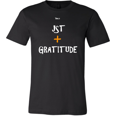 Just Add Gratitude Men's T-Shirt - LiVit BOLD - 16 Colors - LiVit BOLD