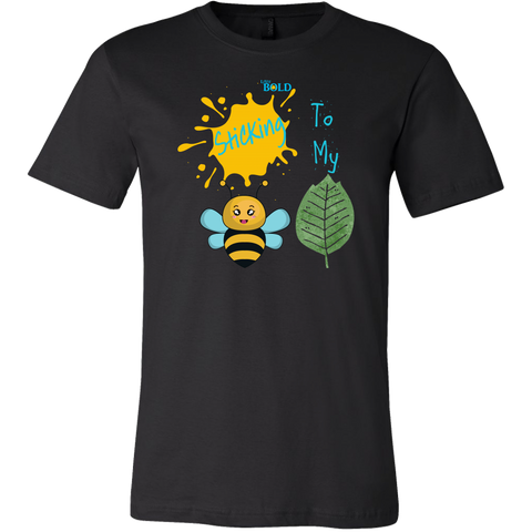 Sticking To My (Bee-Leaf) Belief - Men's T-Shirt - LiVit BOLD - 15 Colors - LiVit BOLD