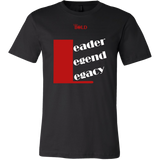 Leader.Legend.Legacy Men's T-Shirt - 14 Colors - LiVit BOLD - LiVit BOLD
