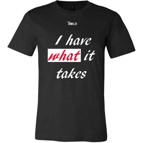 Couple's I Have What It Takes Men's Top - LiVit BOLD - LiVit BOLD