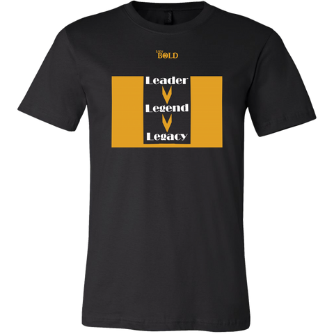 Leader.Legend.Legacy Men's T-Shirt - 16 Colors - LiVit BOLD - LiVit BOLD