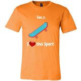 LiVit BOLD Canvas Men's Shirt - I Heart This Sport - Skateboard - LiVit BOLD
