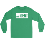 CONFIDENT Unisex Long Sleeve T-Shirt Front and Back Print - 7 Colors - LiVit BOLD - LiVit BOLD