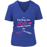 Too Cute Ladies Top - 5 Colors - LiVit BOLD