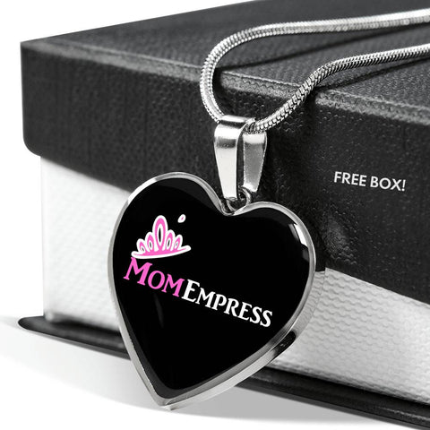 MomEmpress Luxury Silver Necklace - LiVit BOLD - LiVit BOLD