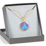 LiVit BOLD Aqua Flame Luxury Necklace & Bangle - LiVit BOLD