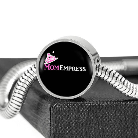 MomEmpress Luxury Steel Charm Bracelet - LiVit BOLD