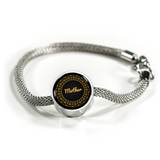 "LiVit BOLD ""Mother"" Circle Charm Bracelet - LiVit BOLD"