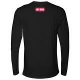 100% Apparel Collection Men's Long Sleeve Top - LiVit BOLD - 5 Colors - LiVit BOLD