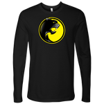 Pantherlete Athletics Men's Long Sleeve Top - Black - LiVit BOLD