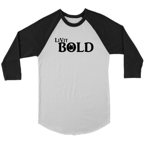 LiVit BOLD Canvas Men's Baseball Shirt - LiVit BOLD