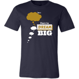 Dare To Dream BIG Two Tone - Men's T-Shirt - 11 Colors - LiVit BOLD