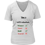 LiVit BOLD District Women's V-Neck Shirt - Self Evaluation - LiVit BOLD