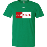 Just Start Men's T-Shirt - LiVit BOLD - 13 Colors - LiVit BOLD