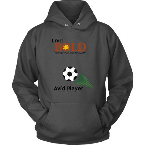 LiVit BOLD Unisex Hoodie - Soccer Collection - LiVit BOLD