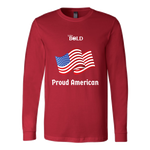 LiVit BOLD Canvas Long Sleeve Shirt - Proud American - LiVit BOLD
