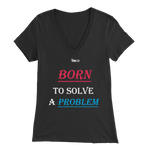 Couple's Born to Solve A Problem Female's Top - LiVit BOLD - LiVit BOLD