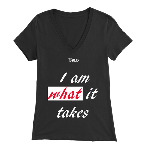 Couple's I Am What It Takes Women's Top - LiVit BOLD - LiVit BOLD