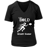 LiVit BOLD District Women's V-Neck Shirt - Dream Chaser - LiVit BOLD