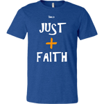 Just Add Faith Men's T-Shirt - LiVit BOLD - 17 Colors - LiVit BOLD