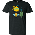 Sticking To My (Bee-Leaf) Belief - Men's T-Shirt - LiVit BOLD - 15 Colors