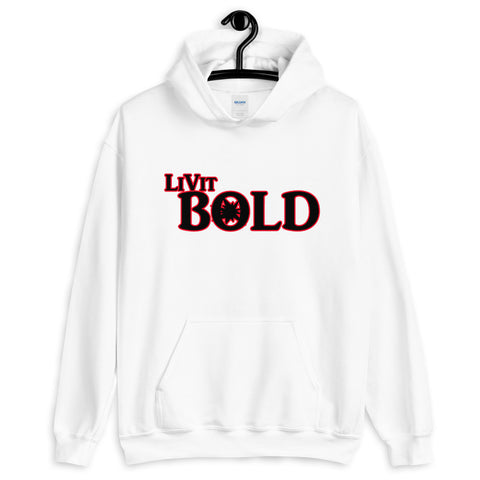 LiVit BOLD Red and Black Unisex Hoodie - 2 Colors - LiVit BOLD