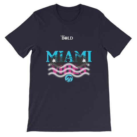 Miami Vibes Short-Sleeve Unisex T-Shirt - LiVit BOLD - 8 Colors
