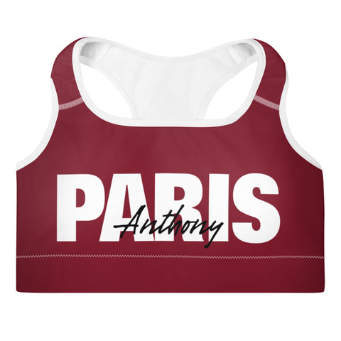 Anthony Paris - Luxury Casual Padded Sports Bra - LiVit BOLD