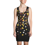 Stary Night Sublimation Cut & Sew Dress - LiVit BOLD - LiVit BOLD